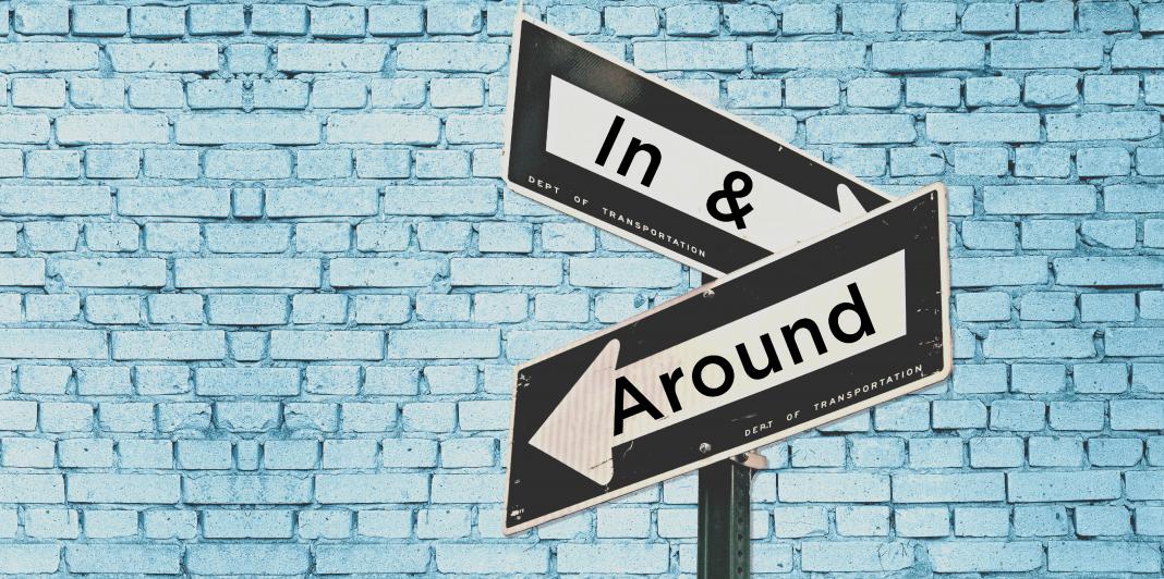 In & Around Blue