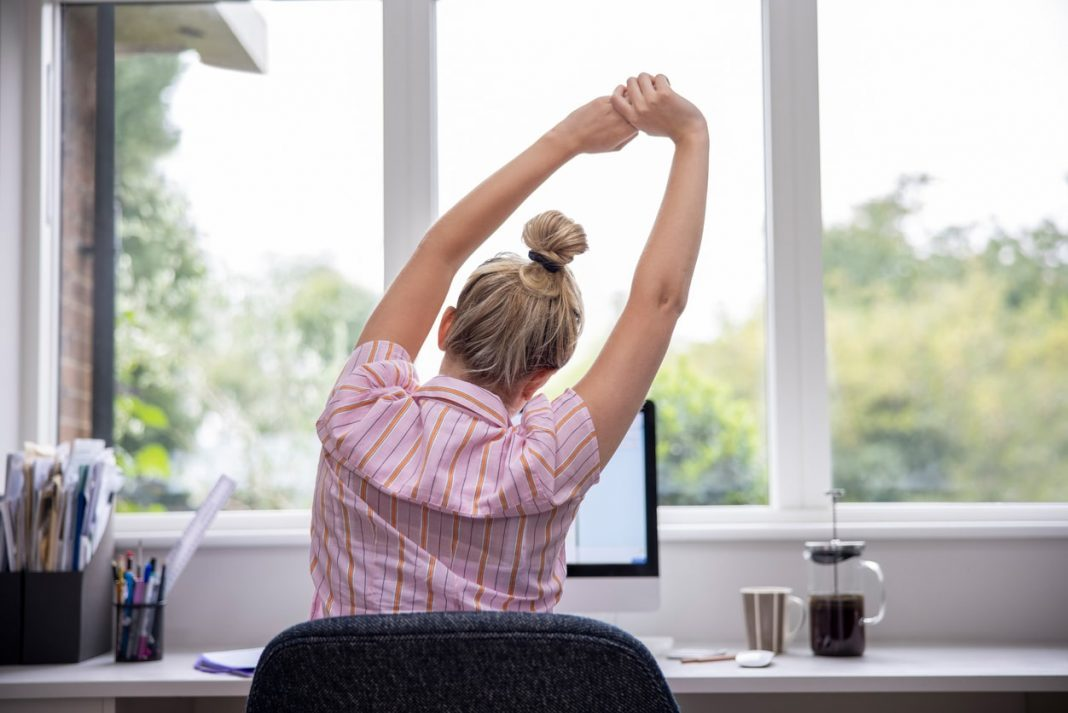 healthy habits for working from home